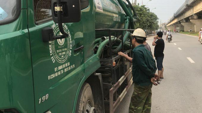 Hút Bể Phốt Tại Hà Nội Thăng Long Envico