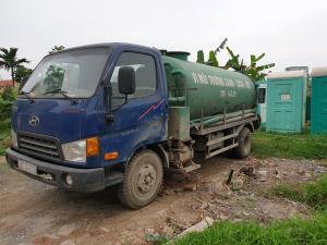 đơn vị hút bể phốt tại huyện Ứng Hòa bảo hành 5 năm
