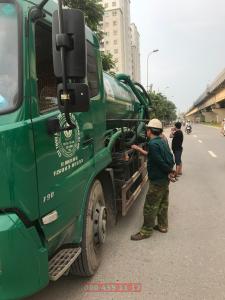 Quy trình hút bể phốt tại Thạch Thất, Hà Nội