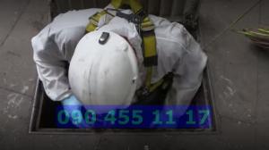 công nhân hút bể phốt công ty Thăng Long Envico