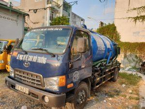 Dịch vụ hút hầm cầu quận Bình Thạnh giá rẻ - Thăng Long Envico