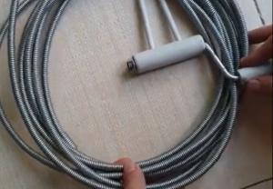 dây thông cống lò xo