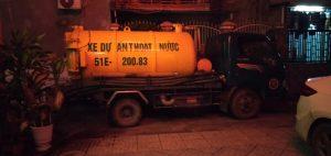 hút hầm cầu tại Đồng Nai vào ban đêm