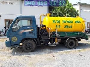 công ty thông cống nghẹt quận Tân Phú