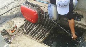Sửa cống nghẹt quận 3 Thăng Long Envico