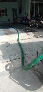 Quy mô công trình hút hầm cầu